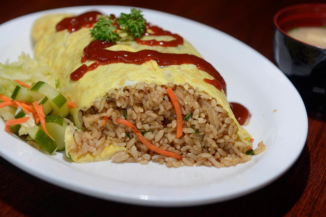 Fumi's Kitchen Famous Fried Rice Omelette