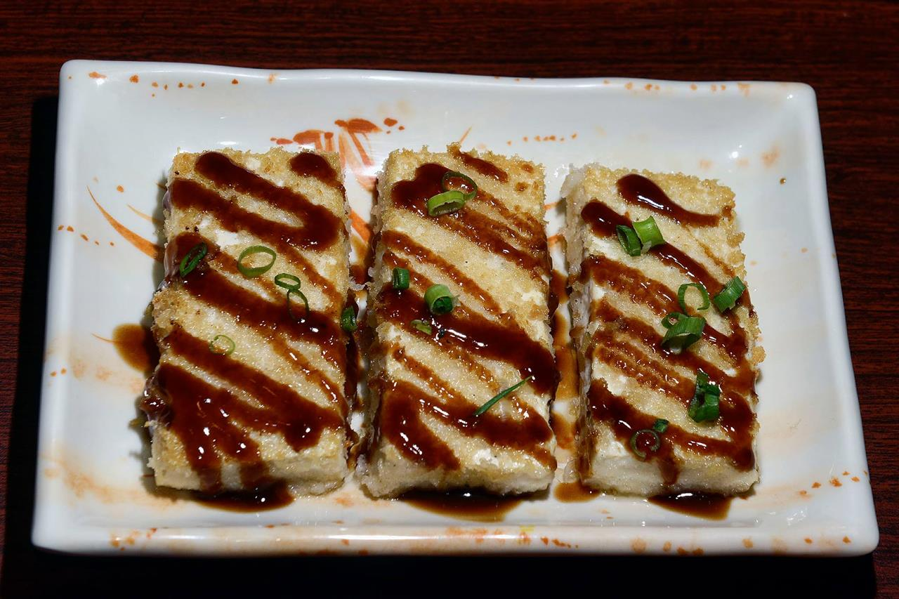 Fumi's Kitchen Fried Tofu Dish