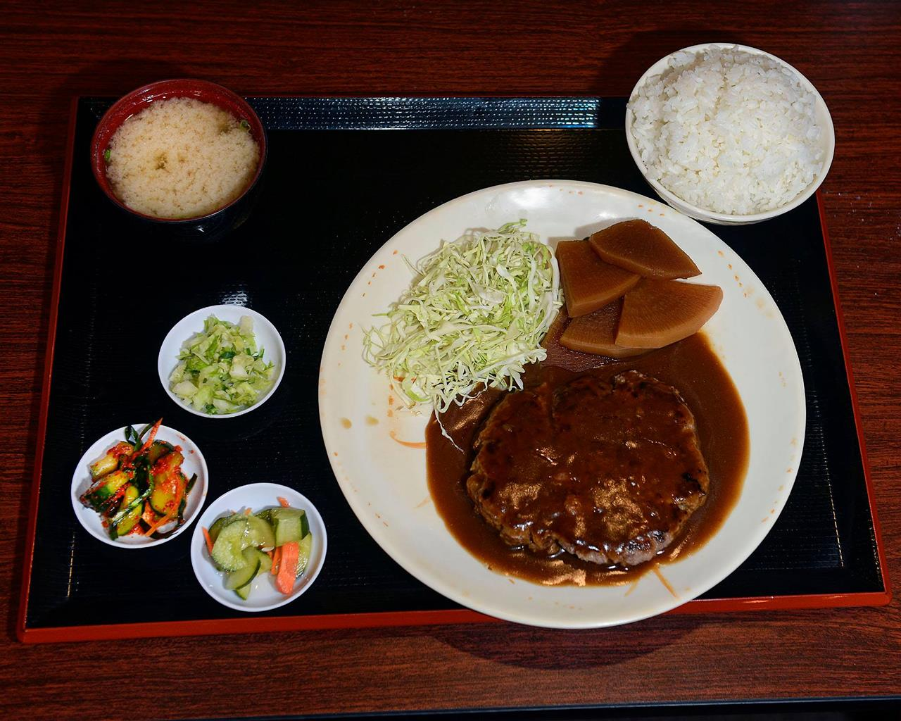 Fumis Kitchen Hamburger Steak Platter