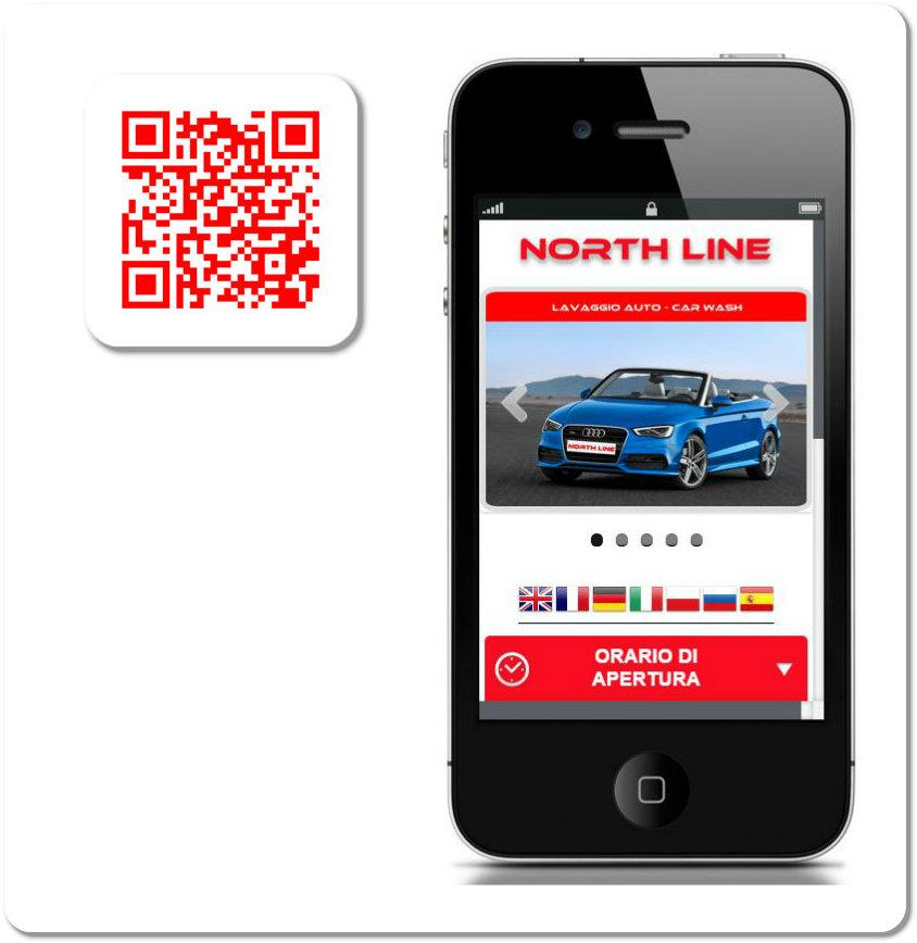 realizzazione siti | Autolavaggio North Line | Olbia |bmob