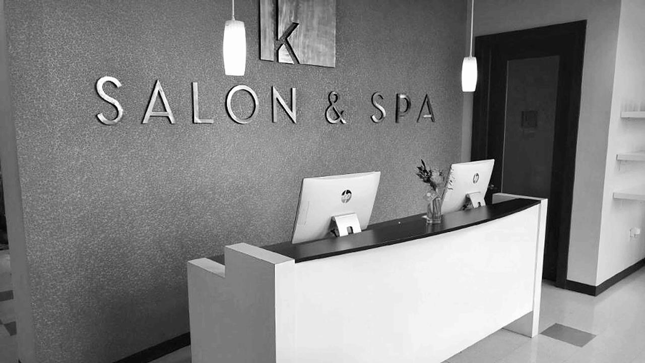 K salon and spa for Salon hpa touquet