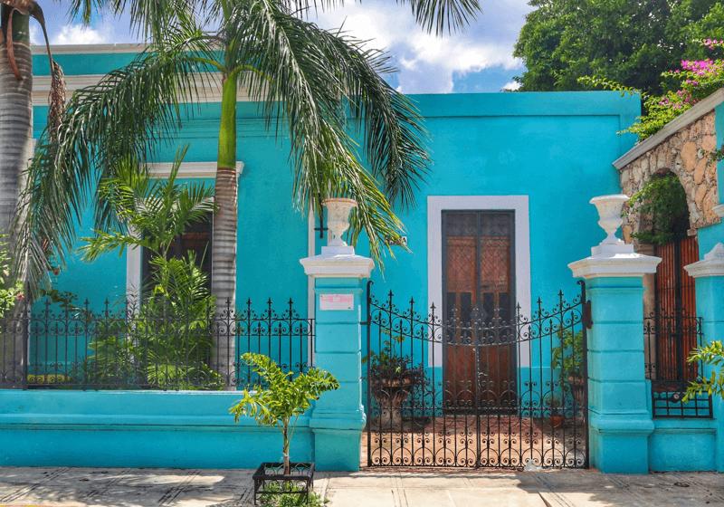front door, welcome, Casa Dos Lirios, Boutique Bed and Breakfast, B&B, Merida, Yucatan, travel Merida, travel Yucatan, Merida B&B, Merida accommodations