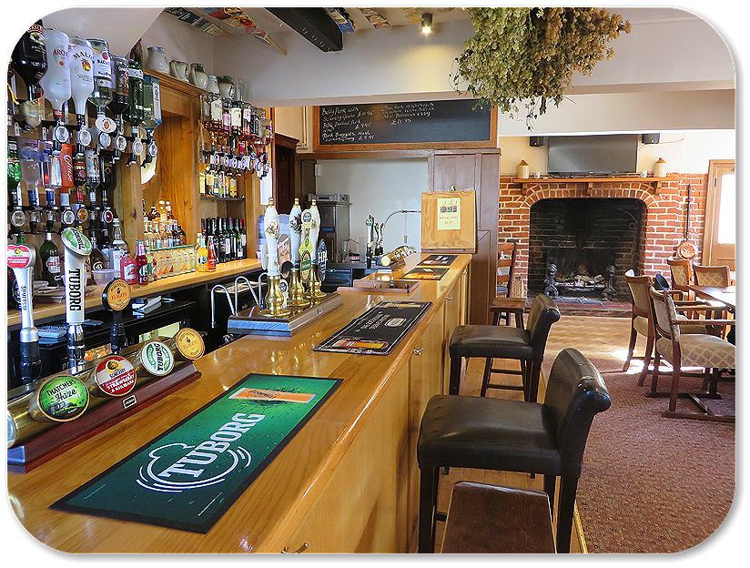 The Bar at the Roebuck Inn Brimfield
