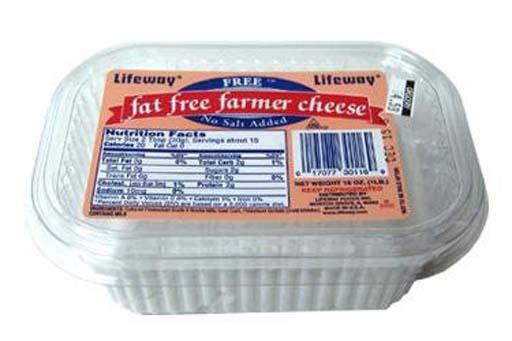 Fat free farmer cheese
