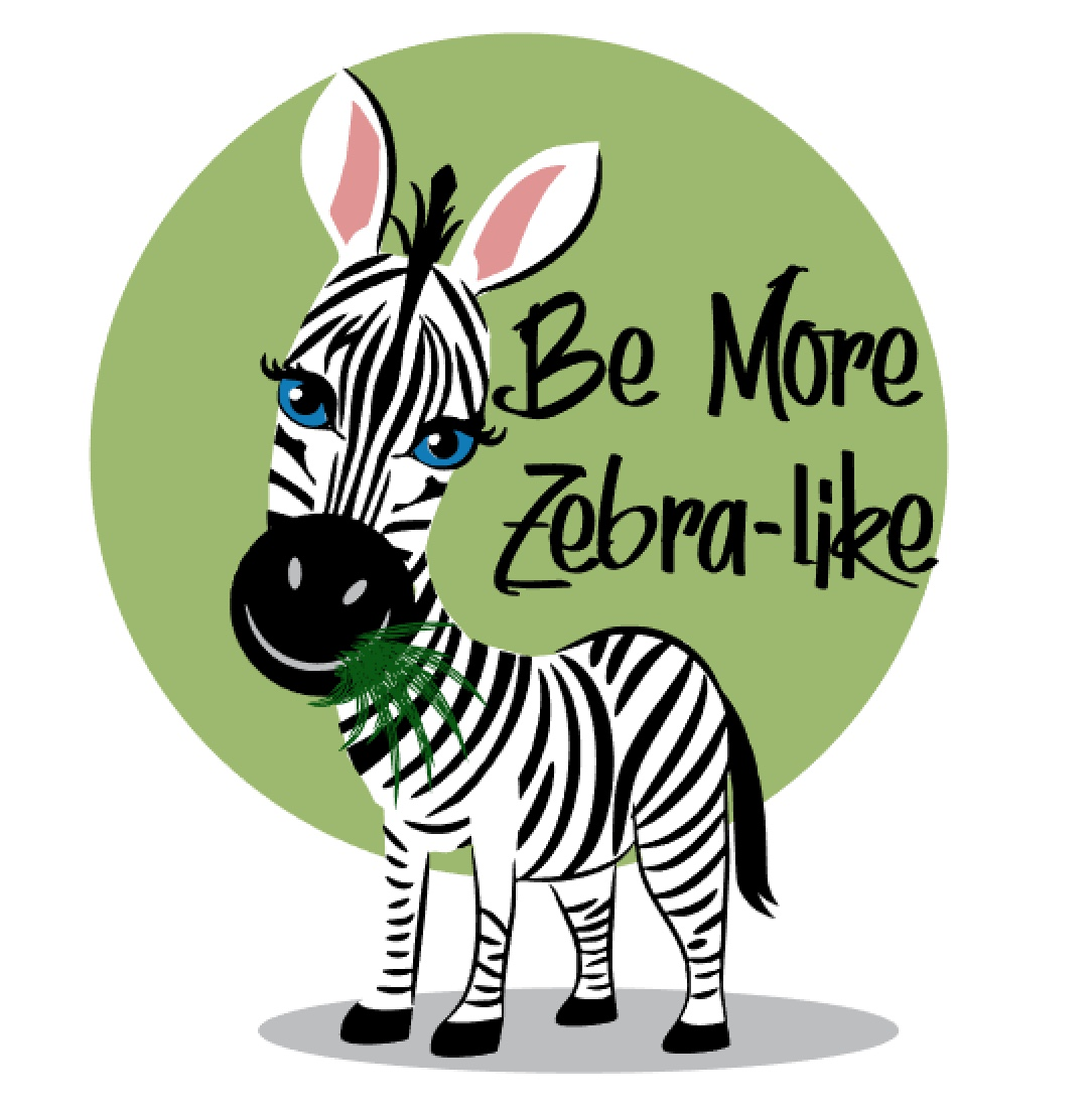 Zebra T-Shirt Simple-Selcare by Rita