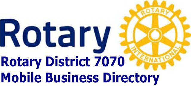 Rotary District 7070 Mobile Business Directory
