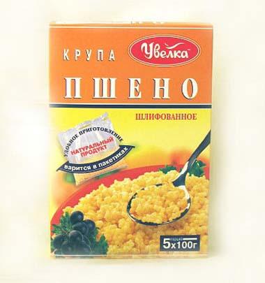 Millet in bags