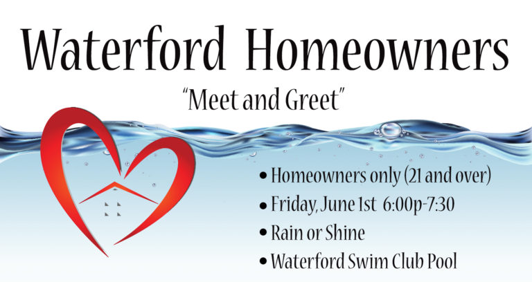 Waterford Homeowners Meet and Greet