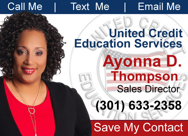 Ayonna Thompson United Credit Education Services | AskGenna.com