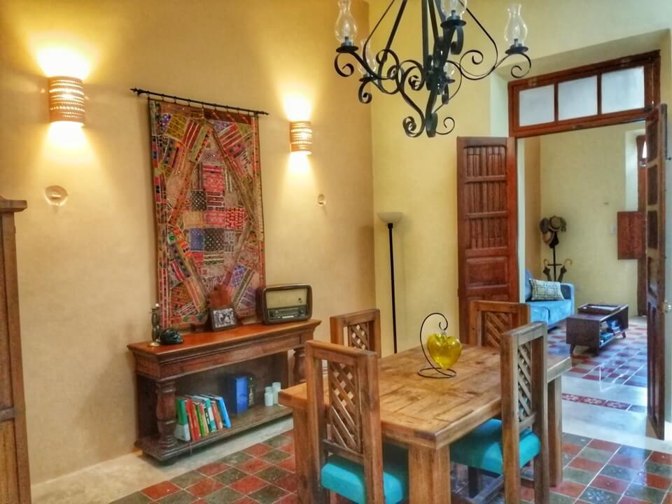 garden, Casa Dos Lirios, Boutique Bed and Breakfast, B&B, Merida, Yucatan, travel Merida, travel Yucatan, Merida B&B, Merida accommodations