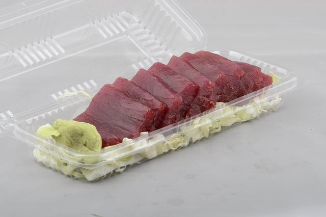 UmekesKona and UmekesPoke808  Sashimi made fresh from the yellow fin ahi caught in the Kona water just this morning