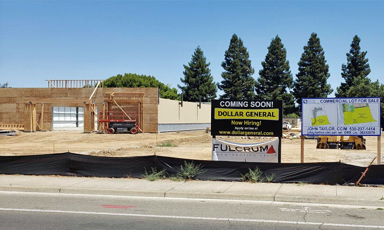 Commercial Lot Available next to New Dollar General at 1510 Garden Highway in Yuba City CA