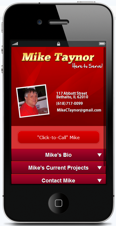 Style #12 - Mike Taynor's Website