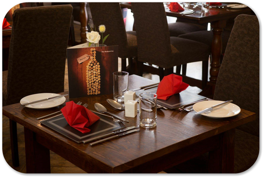 Intimate Dining at the Roebuck Inn Brimfield
