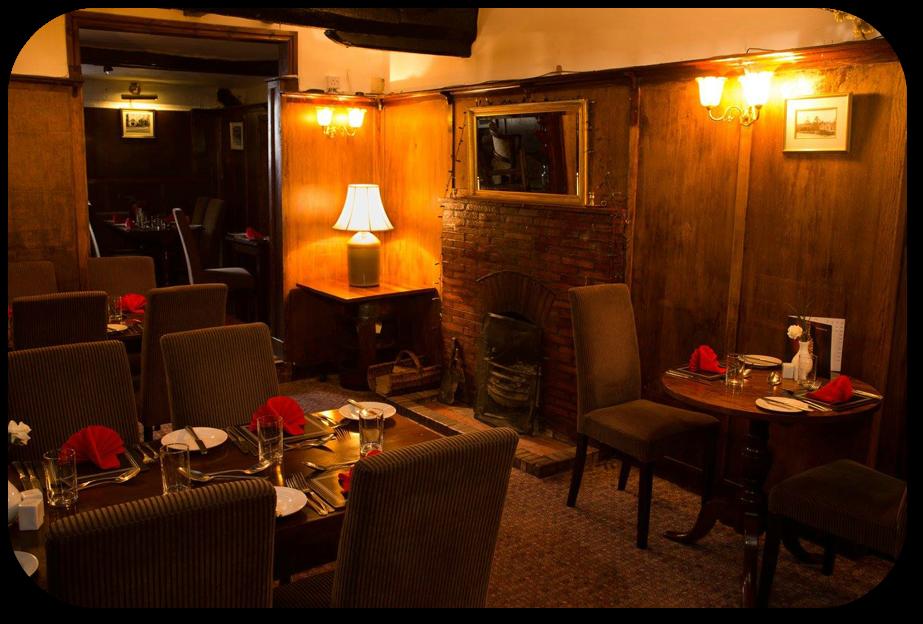 Wood Panel Dining Room at the Roebuck Inn Brimfield