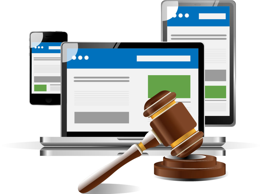 Mobile friendly website for your law firm.