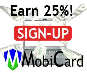 Join MobiCard USA Affiliate program.