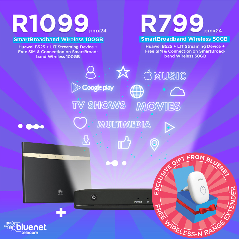 Bluenet Telkom Dealer Lte Amp Fibre Deals South Africa