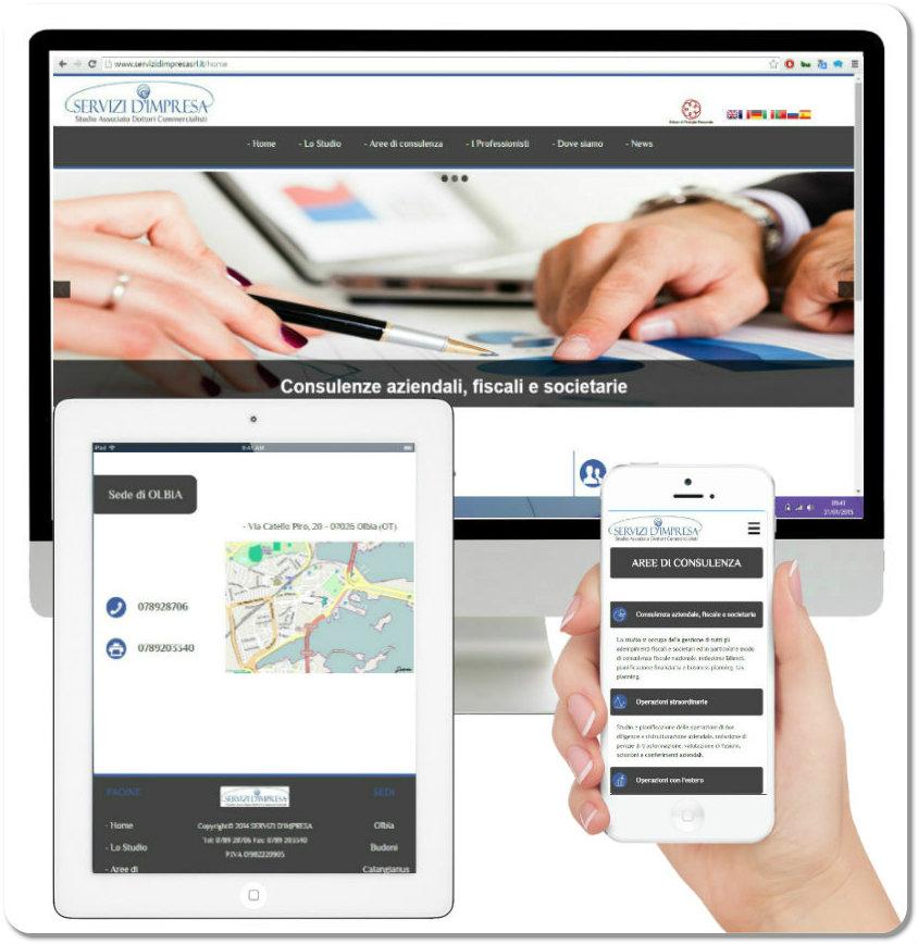 Realizzazione siti | Servizi d'impresa | Olbia | bmob