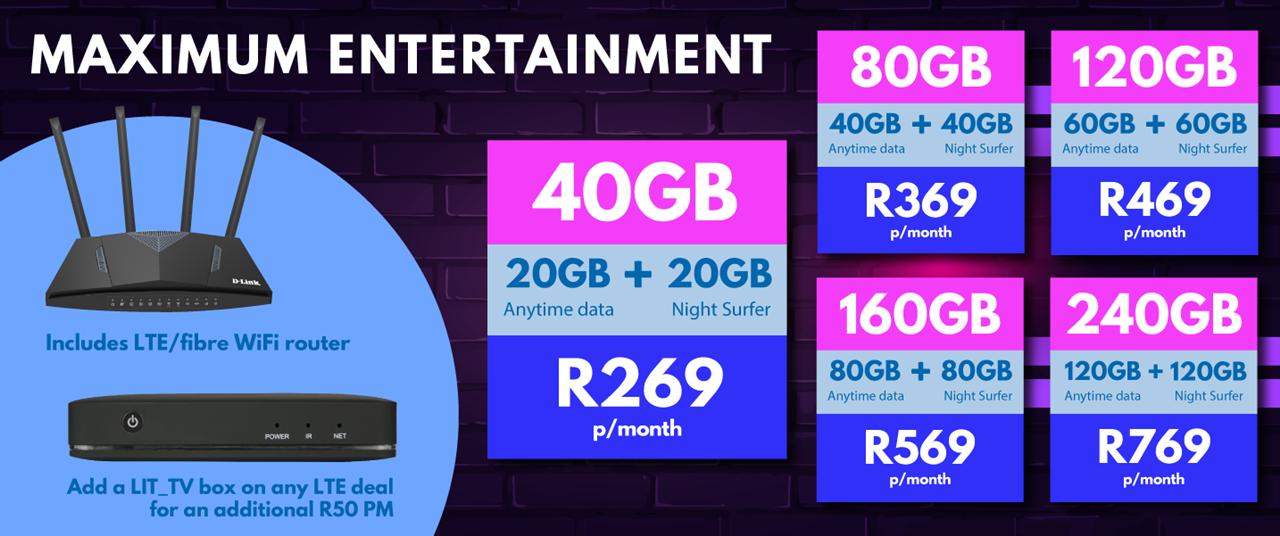 Bluenet Telkom Lit Box Deals South Africa