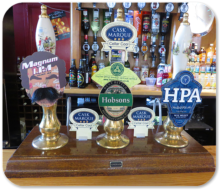 The Beer Selection The Roebuck Inn Brimfield