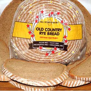 Old country rye bread