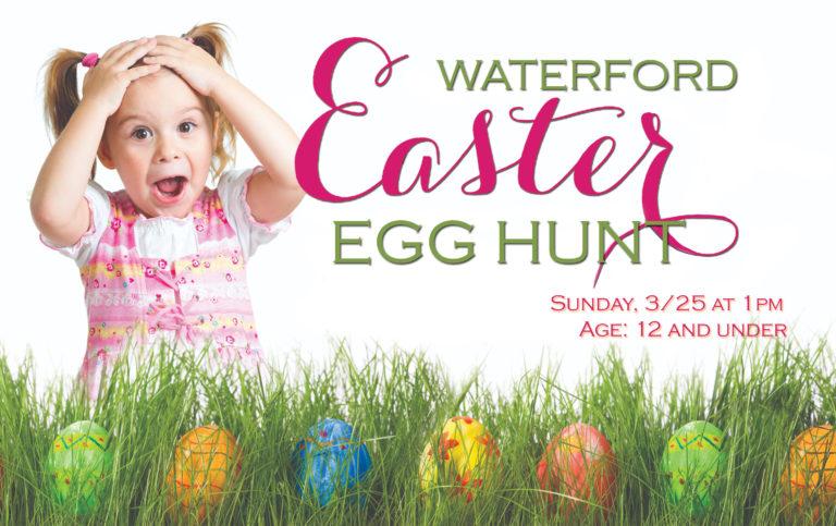 2018 Easter Egg Hunt on March 25