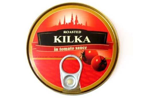 Kilka in tomato sause