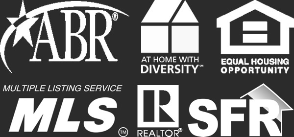 Member of ABR, At Home with Diversity, Equal Housing Oppportunity, MLS, Realtor, SFR
