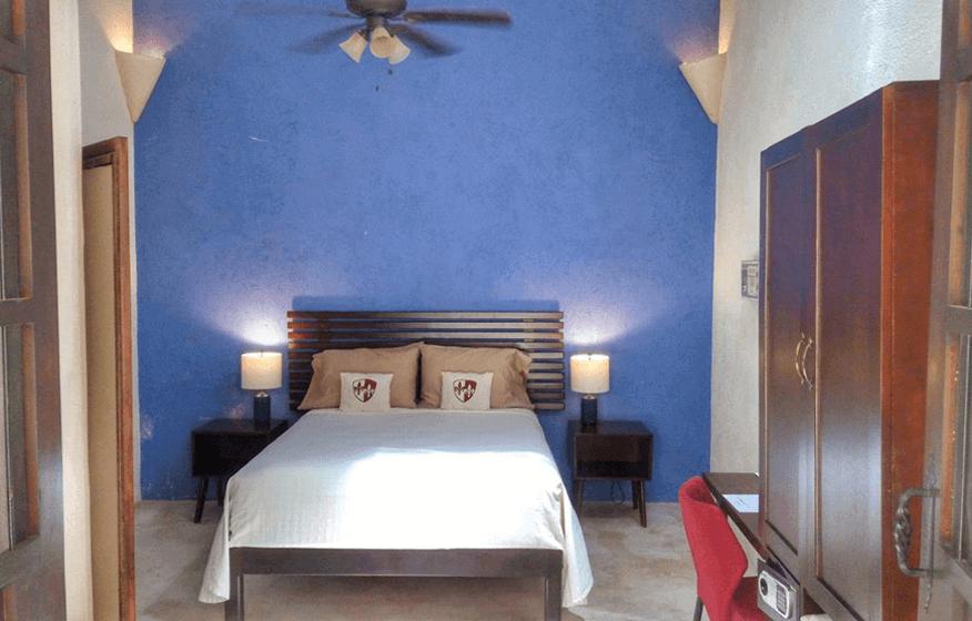 Room 1, Queen Room, Casa Dos Lirios, Boutique Bed and Breakfast, B&B, Merida, Yucatan, travel Merida, travel Yucatan, Merida B&B, Merida accommodations