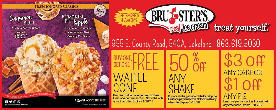 Free Waffle Cone