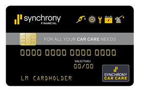Synchrony Financial Car Care Financing